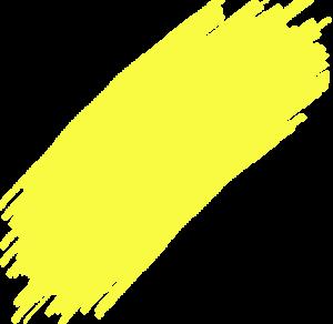 Yellow Brush Stroke